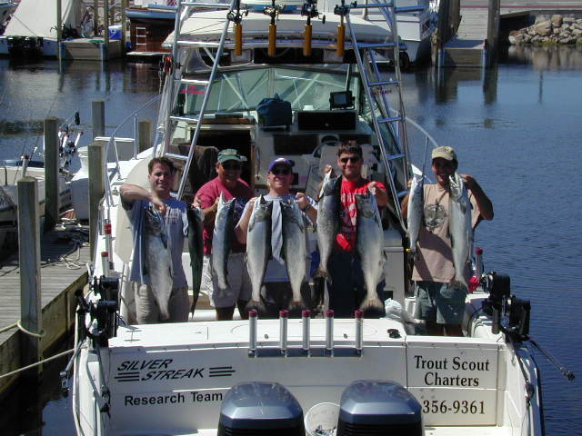 charter fish alpena rogers city presque isle for salmon tournament
